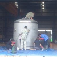 Vệ sinh, Rửa bồn silo Hải Phòng