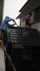Rửa mái tôn, hệ thống vì kèo